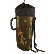 BlueWater Ropes #4 ROPE BAG - Woodland Camo