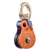 "Rock Exotica OMNI-BLOCK 1.5"" Single Swivel Pulley"